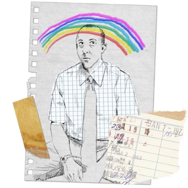 Regnbågspanelen- Första illustrationen